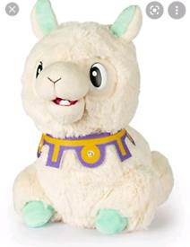 Spitzy the funny llama