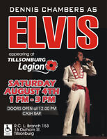 Elvis is in the Building! at Tillsonburg Legion