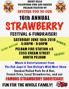 Shorthills Fire and Rescue annual Strawberry Festival