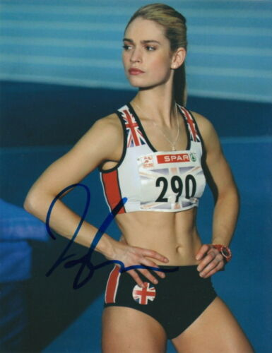 LILY JAMES.. Fast Girls' Lisa Temple - SIGNED
