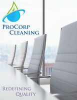 Redefining Quality www.procorpcleaning.com