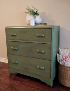 Cottage Style Painted Dresser