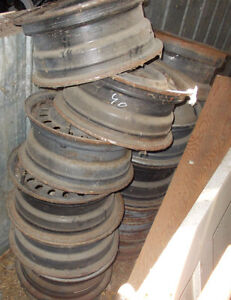VARIOUS WHEELS AND RIMS FROM 50'S TO 70'S Strathcona County Edmonton Area image 3