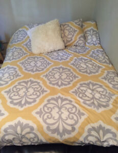 Double Bed, Adjustable Frame, Box Spring