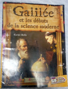 Short French Book for Beginners - about Galileo