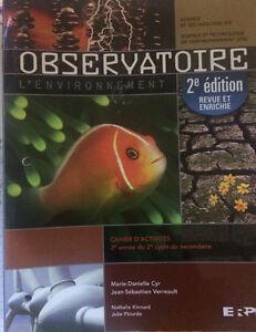Observatoire CA et livres