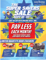 ***The Super Savers Sale*** on NOW at EasyHome