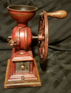 antique Swift Lane coffee grinder