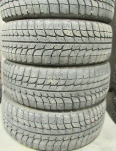 235/65/17 - 85 PERCENT TREAD 4 TIRES Michelin Latitude X-Ice 9/3