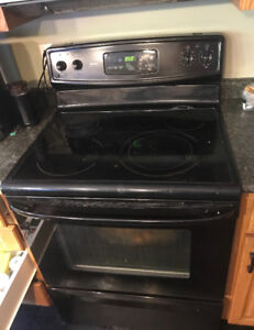 Black self cleaning oven