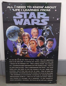 Set of 3 Star Wars Placked Poster