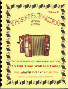 OLD TIME WALTZ TUNES FOR THE BUTTON ACCORDION