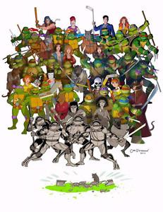 Ninja Turtles. G i Joe's. Ghostbusters.
