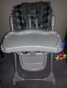 Fisher Price Health Care High Chair, EUC with all accessories
