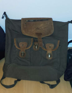 Outdoor canvas back pack