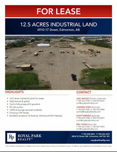 12.5 Acres Industrial Land