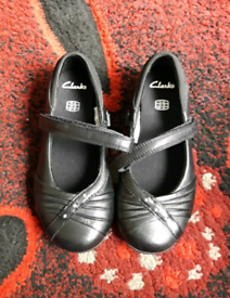 Brand new Girls Clark's shoes