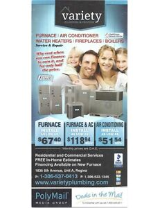 Plumbing, Heating, Cooling, Ventilation, Financing Available