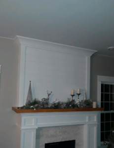 Ship Lap and crown molding