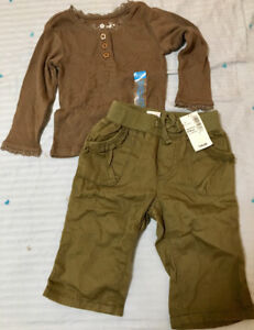 The Children's Place shirt and pant set, new with tags.