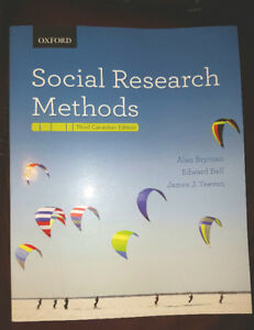 Social Research Methods (Third Canadian Edition)