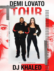 2 Tickets Demi Lovato & DJ Khaled
