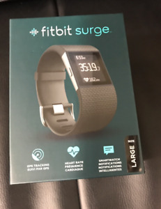 New fitbit surge smartwatch neuf montre intelligente gps