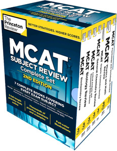 *NEW* Princeton Review MCAT Complete Box Set, 2nd Edition