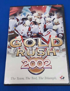NEW NHL SEALED TEAM CANADA 2002 OLYMPIC GOLD RUSH DVD