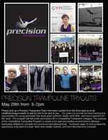 Precision Trampoline Team - Tryouts