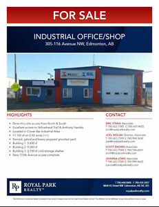 Industrial Office/Shop for Sale