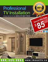 TV installation & TV Wall Mounting Service by iMountTV