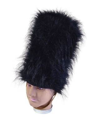 Pelzmütze Bärenfel Hut, Königin Schutz Soldat Kostüm - Soldat Kostüm Zubehör