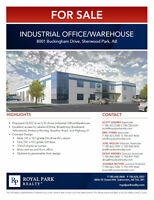 Sherwood Park Industrial Office/Warehouse for Sale