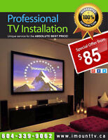 Professional TV Wall Mounting by TV Mount eXpert
