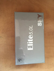 Sky Elite 5.0L Smartphone 4G LTE (silver) - new/sealed/unlocked