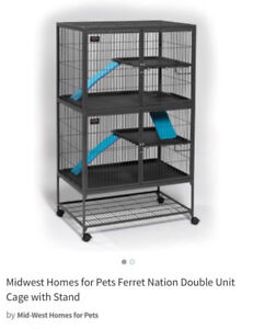 Midwest Ferret Cage - cats, kitten, birds etc .. small animals