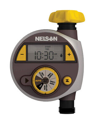 - Gilmour  Nelson  Programmable 1 zone Water Timer