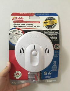 Kidde Smoke and CO Voice Alarm- Brand New! Still in Package