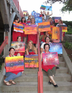 $20 OFF PAINT PARTY AT THE MILL, COBOURG Peterborough Peterborough Area image 5
