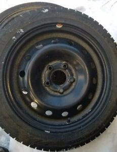 Pneus Nokian 195/55R16 et roues MINI Cooper