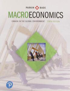 Macroeconomics: Canada in the Global Environment - ECON 2020
