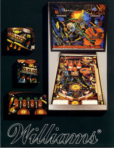 Williams Blackout pinball machine