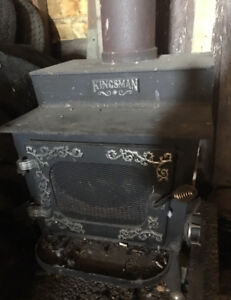 Woodstove and chimney