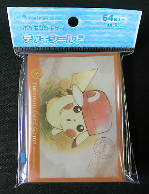 Pokemon Card Official Sleeve Ash's Hat Pikachu Kalos Version (64) 66x92 mm JP