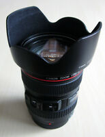 Canon EF 24-105mm f4L IS USM zoom lens + 2 Hoya filters