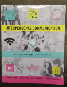 Interpersonal Communication: Relating to Others 7th Edition