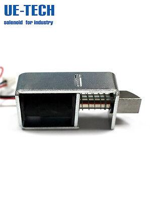 Dc 24v 9.6w Open Frame Pull Door Lock Solenoid Electromagnet Ue-0831s-24a