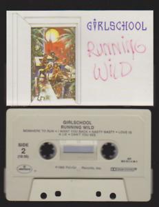 Cassette - Girlschool - 'Running Wild'