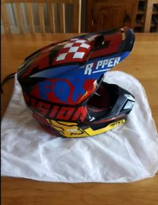 Motocross Helmet - Fox - kids large